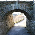 Cliff Walk Bridge by Debbie Storie