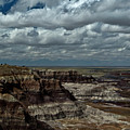 Cliffs And Clouds by Murray Bloom