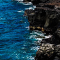 Cliffs And Water by Pamela Walton