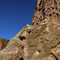 Cliffs At Bandelier by Stuart Litoff