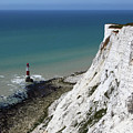 Cliffs At Beachy Head East Sussex by James Brunker