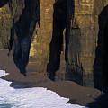 Cliffs At Blacklock Point by Robert Potts