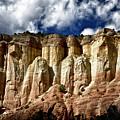 Cliffs At Echo Amphitheater by Robert Woodward