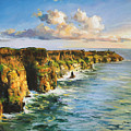 Cliffs Of Mohar 2 by Conor McGuire