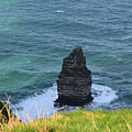 Cliff's Of Moher Needle Rock Formation In Ireland by DejaVu Designs