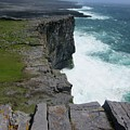 Cliffs Of The Aran Islands 5 by Crystal Rosene