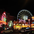 Clifton Hill At Night by Abby Humphries