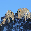 Climbers Sunlit Challenge by Pat Speirs