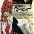 Clinique Cheron - Vintage Clinic Advertising Poster by Studio Grafiikka