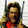 Clint Eastwood As Josey Wales by David Dehner