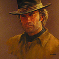 Clint Eastwood by Charles Vernon Moran