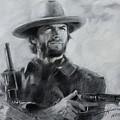 Clint Eastwood by Viola El