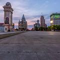 Clinton Square Sunrise by Scott Reyes