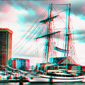 Clipper City - Use Red-cyan 3d Glasses by Brian Wallace