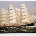 Clipper Ship, 1875 by Granger