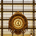 Clock Dorsay Museum by Mick Burkey