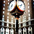 Clock by Kelly Hazel