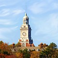 Clock Tower 2 by Jim  Darnall