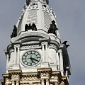 Clock Tower City Hall - Philadelphia by Christiane Schulze Art And Photography