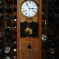 Clock Wine Rack by Valia Bradshaw