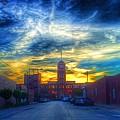 Clocktower Sunset by Nick Heap