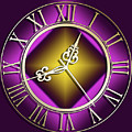 Clockwork Purple by Chuck Staley