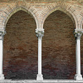 Cloister With Arched Colonnade by Elena Elisseeva