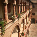 Cloistered Courtyard by Christiane Schulze Art And Photography