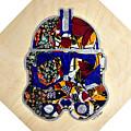 Clone Trooper Star Wars Afrofuturist by Apanaki Temitayo M