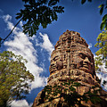 Cloning Out Tourists At Ta Prohm Temple, Angkor Archaeological Park, Siem Reap Province, Cambodia by Sam Antonio Photography