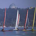 Close Encounters - Lake Geneva Wisconsin by Bruce Thompson