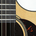 Close-up Of Steel-string Guitar by William Kuta