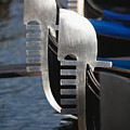 Close Up Views Of Gondola Bows by George Oze