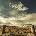 Closed Gates And Open Paddocks by Jorgo Photography - Wall Art Gallery