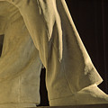 Closeup Detail Of Lincoln Memorial by Kenneth Garrett