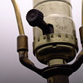 Closeup Lampswitch by Erik Burg