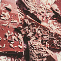 Closeup Of Chocolate Pieces And Shavings On Plate by Jorgo Photography - Wall Art Gallery