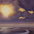 Cloud Break On The Northern Plains II by Scott Kirby