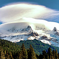 Cloud Capped Mount Hood by Craig Voth