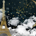 Cloud Cities Paris by Mindy Sommers