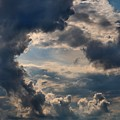 Cloud Formations Boiling Up by Kathryn Meyer