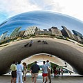 Cloud Gate Aka Chicago Bean by NaturesPix