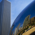 Cloud Gate And Aon Center by Roger Passman