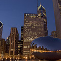 Cloud Gate At Night by Timothy Johnson