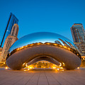 Cloud Gate Chicago  by Michael Ver Sprill