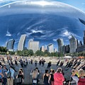 Cloud Gate Reflectioms by Betty Arnold