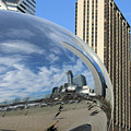 Cloud Gate Reflections by Kristin Elmquist