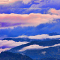 Cloud Layers At Sunset by James BO  Insogna