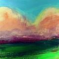 Cloud Oranges by Les Leffingwell