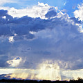Cloud Storm On The Horizon by Micah Williams